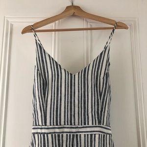 Lush Pants - Beachy Striped Romper